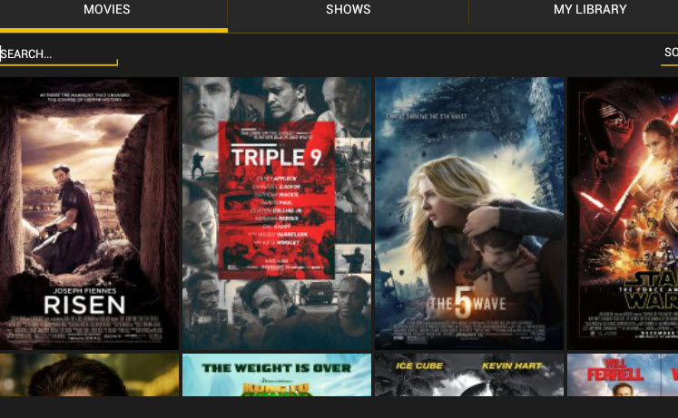 Showbox app features